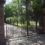 Formby hall gate 1 Woodvale